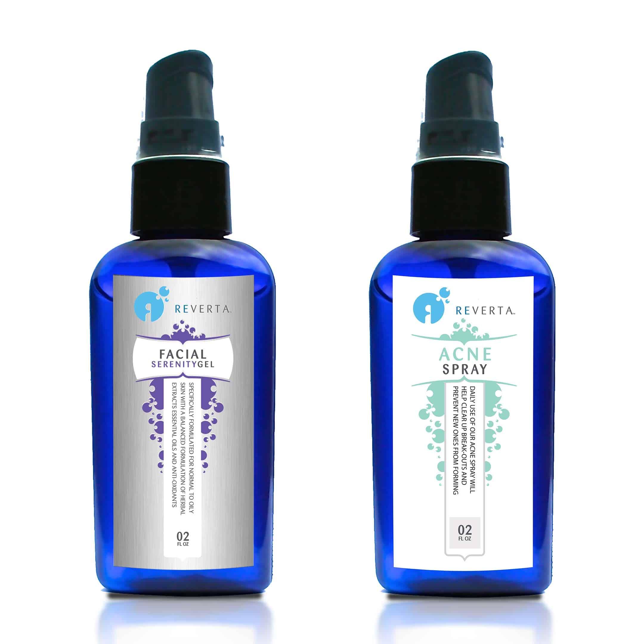 Reverta psoriasis behandeling (huidverzorgingspakket)