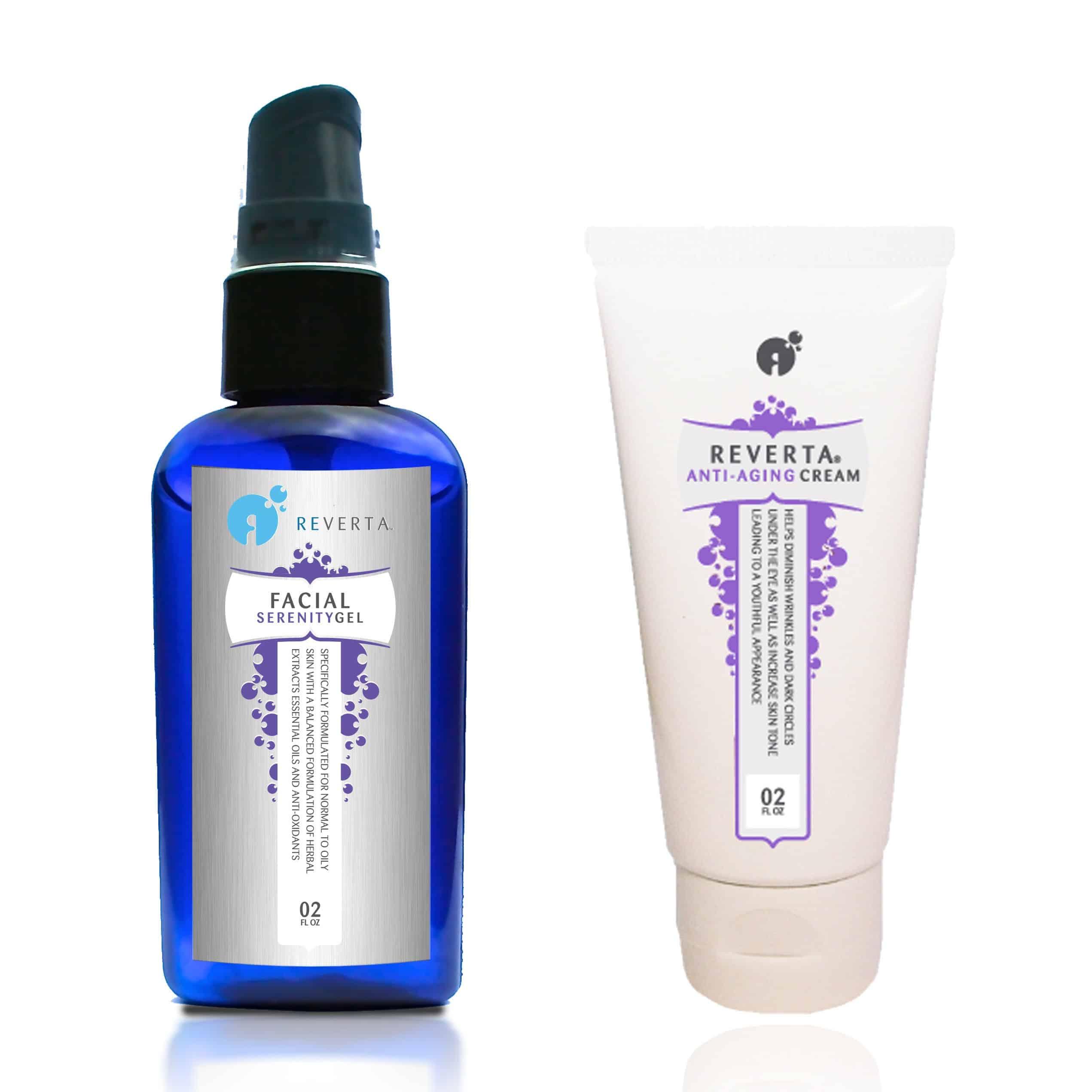 Reverta anti-aging power pakket voor de normale tot vette huid
