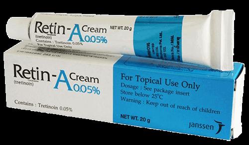 Rosacea behandeling met vitamine A-zuur kan de huid aantasten